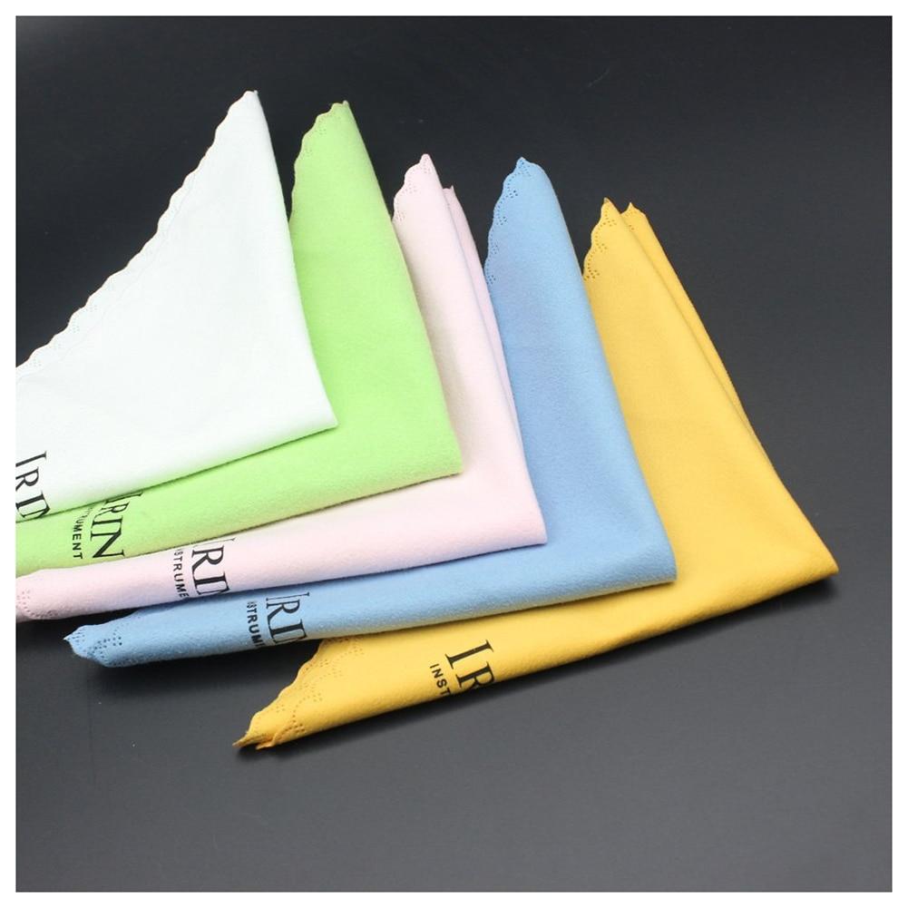 HOT IRIN 5pcs Microfiber Cleaning Polishing Polish Cloth for font b Musical b font font b