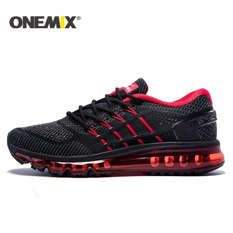 Onemix 2018 nuovi uomini scarpe da corsa in mesh traspirante scarpe sportive per uomo nuove sneakers outdoor atletiche zapatos de hombre EUR39-47