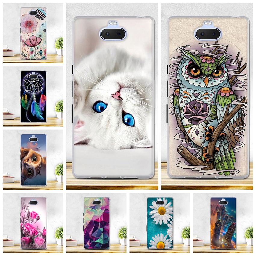 <font><b>Case</b></font> For Coque <font><b>Sony</b></font> Xperia 10 <font><b>Case</b></font> Cover For <font><b>Sony</b></font> <font><b>Xperia10</b></font> Cover TPU Soft Silicon <font><b>Cases</b></font> For <font><b>Sony</b></font> Xperia 10 L3113 L4113 Phone Bag image
