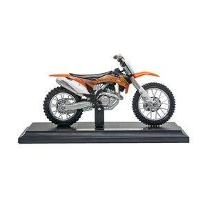Image 2 - Maisto 1:18 KTM 450 SXF รถจักรยานยนต์รถจักรยานยนต์อัลลอยมอเตอร์จักรยาน Miniature Race ของเล่นสำหรับของขวัญคอลเลกชัน