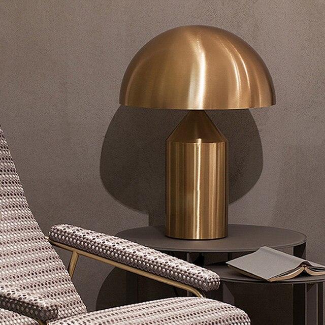 Creative Desk Lamp Nordic Postmodern Mushroom Table Lamps Simple Living Room Bedrooms Bedside Hgt1114