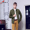 All-Match British Slim Single Breasted Mens Middle Trench Coat Europe Jacket Male Coat Trench Free Shipping Plus Size M-3XL
