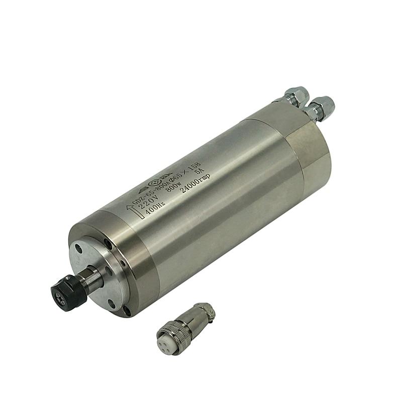 Шпиндельный мотор с водяным охлаждением комплект фрезерных станков с ЧПУ детали для деревообрабатывающего оборудования