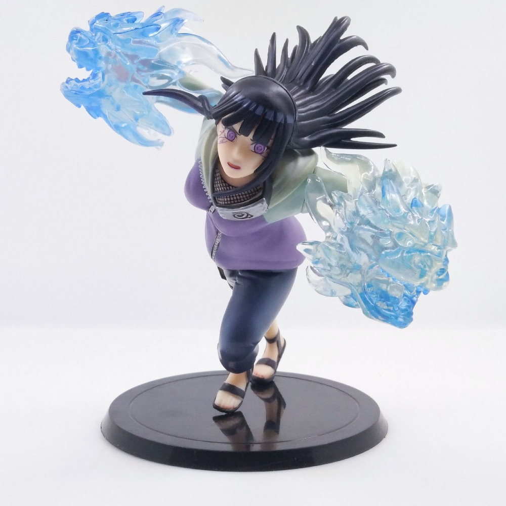 Naruto Ninja Hyuuga Hinata Hyuga Action Figure 24CM PVC Hinata Gk Anime Model Figures Dolls Toys Boxed Classic Collection HY0001 new arrival five nights at freddy s fnaf action figures toys bonnie foxy freddy fazbear bear pvc figure dolls toys for children