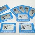 10pcs/lot Free shipping Polarized sunglasses Test piece Polarized test card  Eyewear Accessories