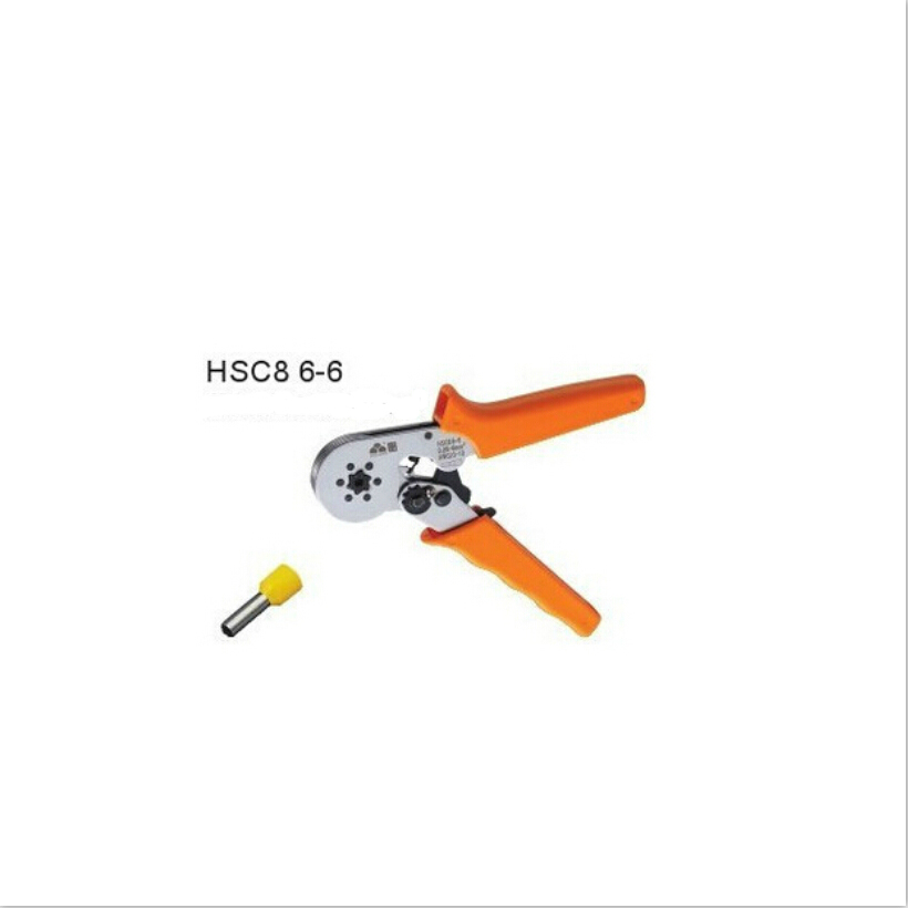 1b2d5d5eaa5e HSC8 6-6 0.25-6 mm2 crimping tools for wire end sleeves high quality  multi-function crimping pliers tube crimping pliers