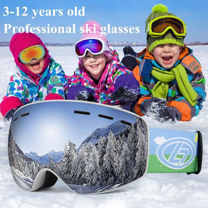 New Youth Kid Anti-Fog UV Lens Snowmobile Snowboard SKI Bike Snow Winter GOGGLES