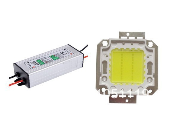 20W White/ Warm White LED bulb lamp chip + 20W LED Driver