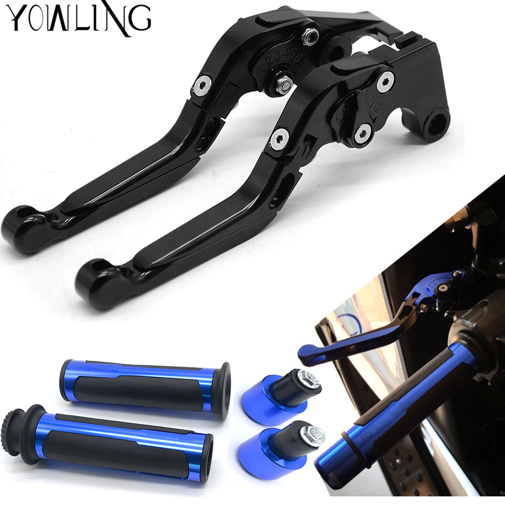 CNC Motorcycle Adjustable Brake clutch lever handle grips For honda CBR600RR CBR 600 RR CBR600 RR 2003 2004 2005 2006