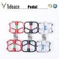 Дешевая 1 пара велосипедных педалей из алюминиевого сплава  педали для горного велосипеда  закрытые педали для шоссейного велоспорта BMX  уль...