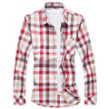 Casual Men Shirt Casual Slim Fit Men's Shirt Autumn&Spring Male Cotton Shirts Long Sleeve Men Clothes,Plus size 6XL