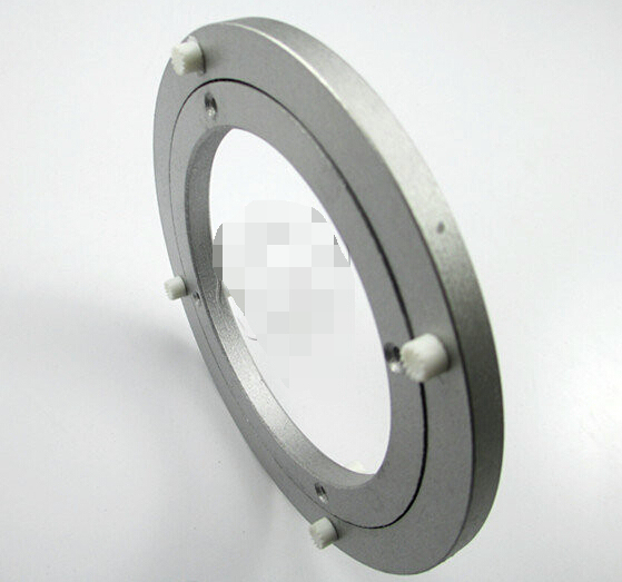 6inch(140mm) Freeshipping Aluminum alloy table turntable bearing universal glass swivel plate