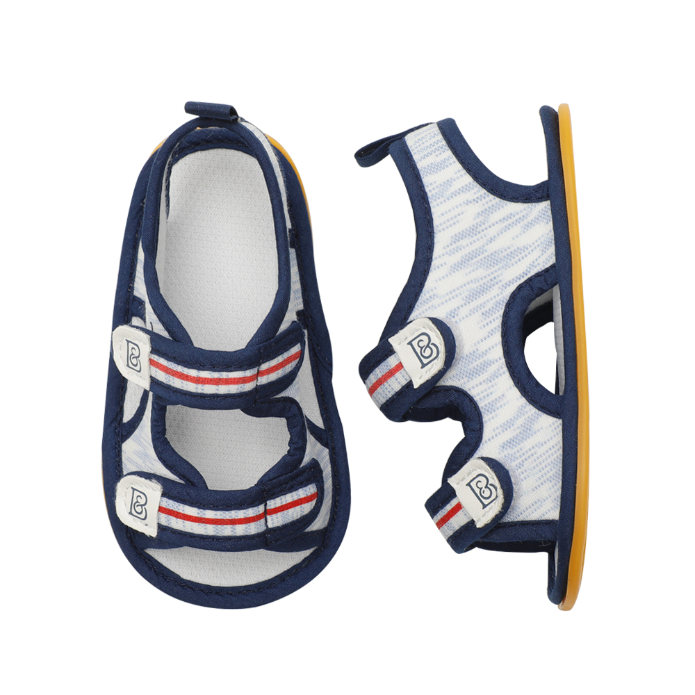 CHICHIMAO Adorable Kids Unisex Sandals Summer Baby Moccasins Baby Girls Boys Sandals with Rubber Soft Sole Shoes Baby