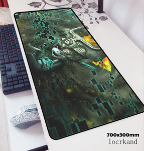 Image 4 - Zelda podkładka pod mysz 70x30cm podkładka pod mysz gamingową anime wysokiej jakości biuro notbook podkład na biurko HD drukuj padmouse gry komputer dla graczy maty