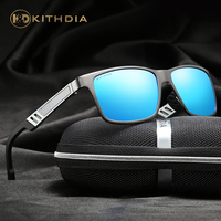 KITHDIA Brand Aluminum Polarized Sunglasses Men Women Brand Designer Male Vintage Sun Glasses Gafas Oculos De