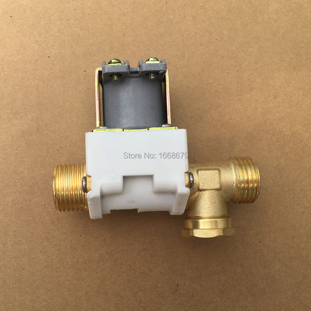 2x1//2/'/' Electric 12V Solenoid Valve Water Pressure Air Swith N//C Normally Closed