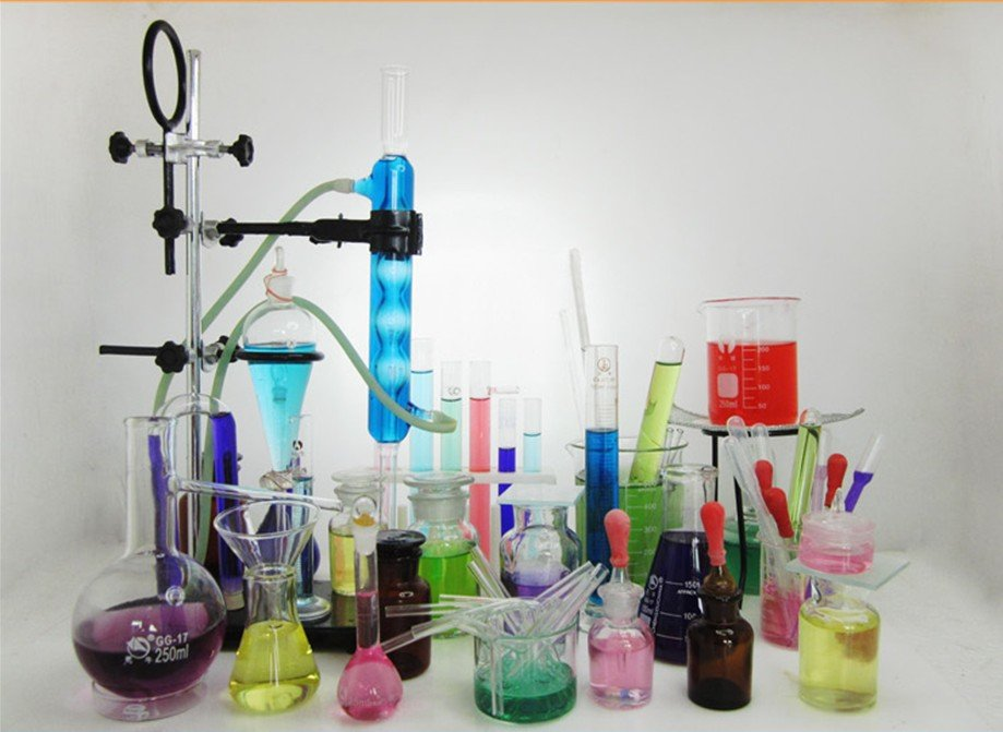 US $484 03 |laboratory equipment tool set chemistry experiment tools set  ,glass ware tubes ,flask,reagent for different chemistry experiment-in
