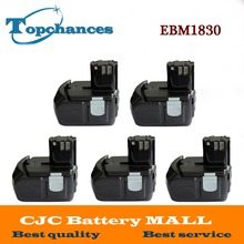 5X High Quality Power Tool Rechargeable Battery For Hitachi EBM1830 327730 BCL1815 DH18DL DS18DL DV18DL 18V 5000mAh Li-ion
