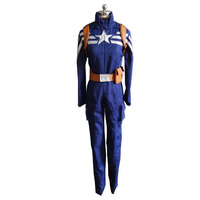 2017 Halloween Costumes Adult Captain America 2 The Winter Soldier Cosplay Costume Superhero Captain America Costume