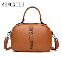 New Brand PU leather Handbag Top Handle Totes Women Small Fashion Purse Lady retro Messenger Crossbody Handbags bolsa feminina цена