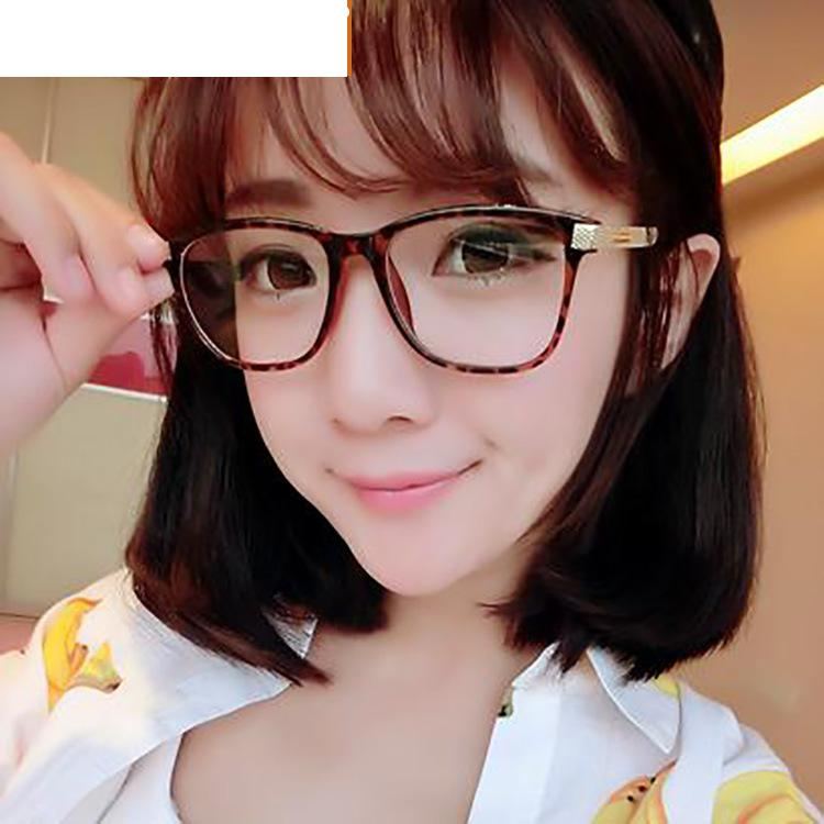 retro round plastic eyeglass frame clear lens glasses women designer fashion brand eye glasses frames for