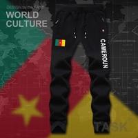 Cameroon CMR Cameroun Cameroonian Mens Pants Joggers Jumpsuit Sweatpants Track Sweat Fitness Fleece Tactical Casual Nation
