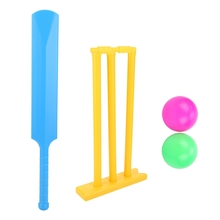 Cricket-Set Play-Toys Interactive-Board-Game Plastic Sports Kids Children Gift