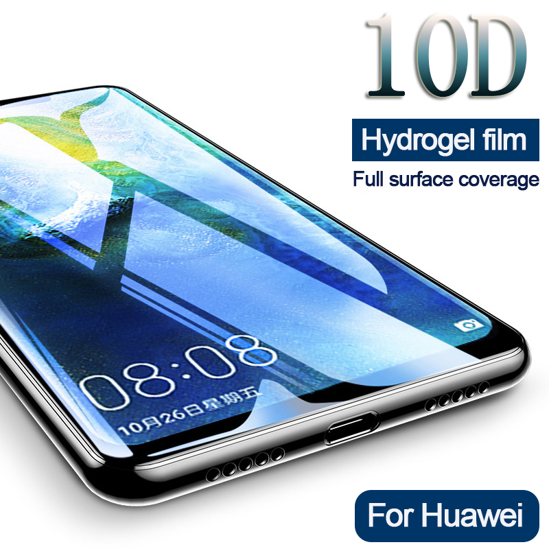 10d Full Cover Hydrogel Film For Huawei Mate20 Lite Pro P20 Soft Screen Protector For P20 Lite Pro Mate10 Lite Not Glass