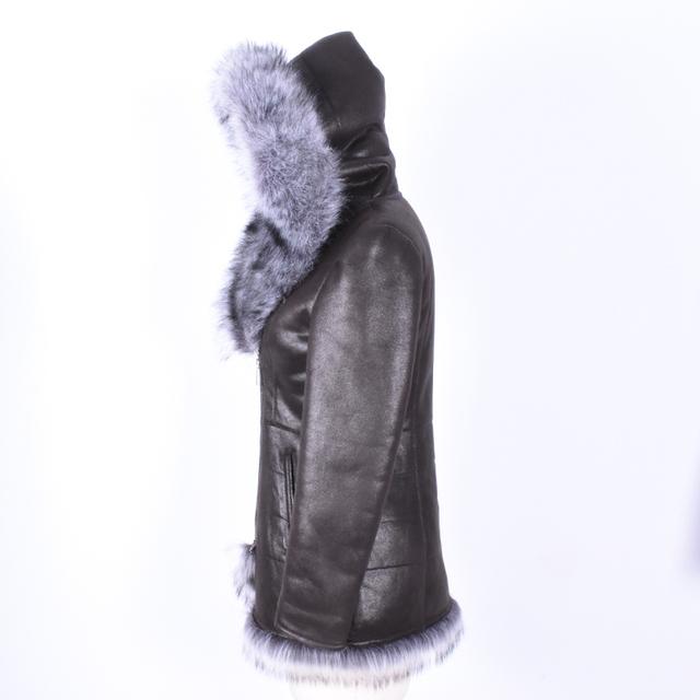 Luxury Women Fur Jacket Plus Size 7XL