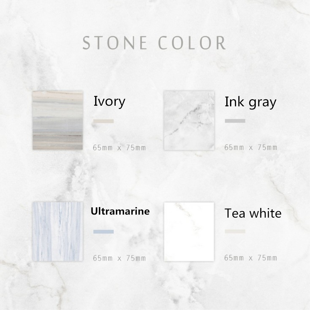 Japan Marble Stone 4 Colors exture Self-Adhesive Memo Pad Sticky Notes post Sticker Label Escolar Papelaria School Office Supply