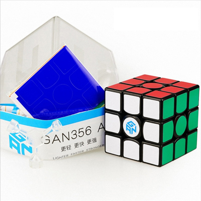 GAN 356 Air 3x3x3 Stickers master standard puzzle magic speed cube professional gans cubo advance version toys for children