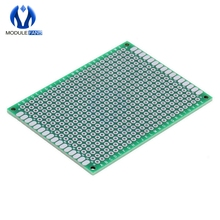 5PCS Double Side 5x7 5 x 7 cm Prototype Universal FR-4 Glass Fiber PCB Board