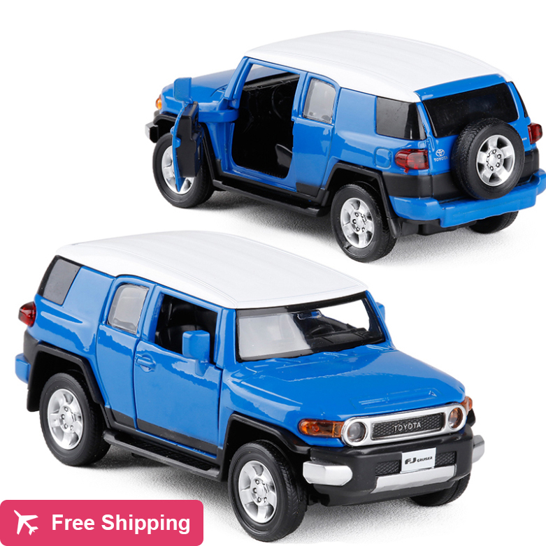 New 1:32 Toyota FJ Cruiser Car Model Diecast Metal Alloy Car Model Toy With Pull Back For Kids Gift Toy Free Shipping