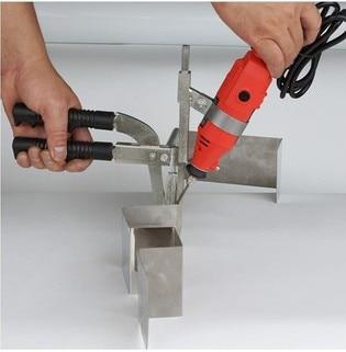 Легкая складывающаяся металлическая окантовка, прокручивающая машина, ручные складные ножницы для продольной резки слово NE