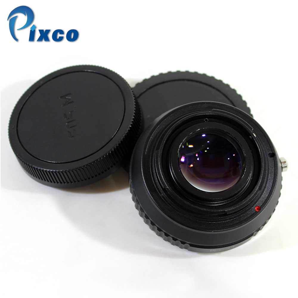 Pixco For EF-EOS M Focal Reducer Speed Booster Turbo Adapter uit For Canon EF Lens to Canon EOS M M6 M5 M10 M3 M2 M