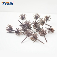 лучшая цена Teraysun 500pcs miniature scale model tree arm 2.5cm scale model landscape mini tree model