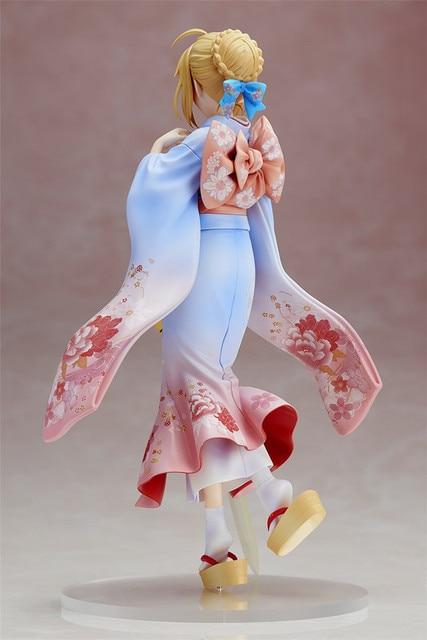 Аниме фигурка Сайбер в кимоно 25 см ПВХ 3