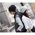 Women Men Baggy Beanie Hat Hip Hop Street Dance Knit Cotton Caps Autumn Winter Solid Bonnet Hats Casual Unisex Match Accessories
