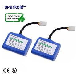 Sparkole 4200 mAh литиевая батарея для Neato XV-11 XV-12 XV-14 XV-15 XV-25 XV-21 XV Подпись Pro робот пылесос 2 Pack UL