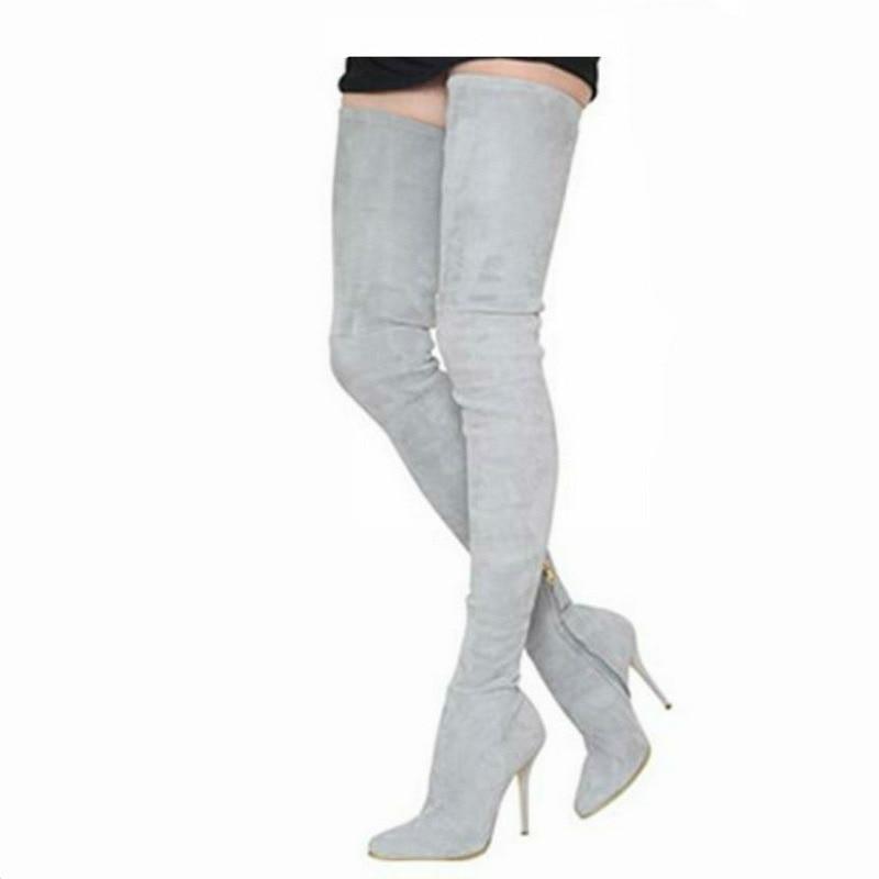 5e8cb94f981 🛒[vwsq9] Wholesale Cheap Price Black Soft PU Leather Thigh High ...