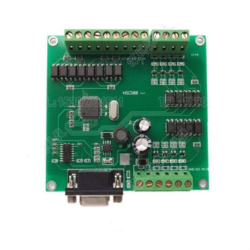 Computer IO Control Card, 8 in 8 Out Digital Signal Simple Protocol High Speed Transmission Control
