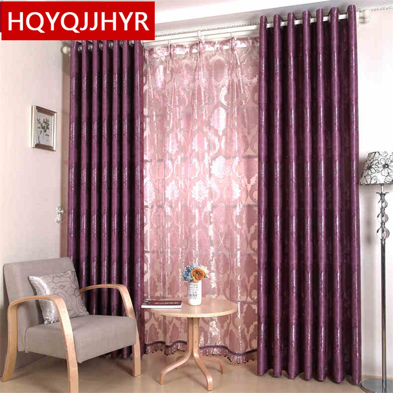 European luxury rich flowers tulle curtains for living Room sheer ...