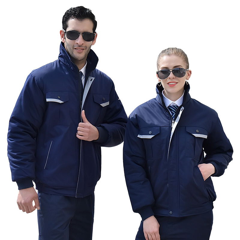 Winter Workwear Coveralls For Men Women Cotton Coat Jacket Wear-resistant Auto Repair Construction Factory Working Uniforms