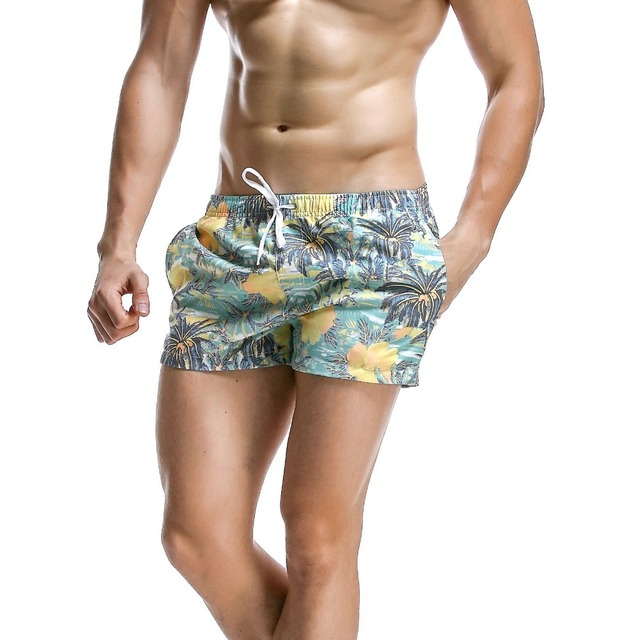 BRAND NEW SEOBEAN MEN'S BOARD SHORTS CASUAL SUMMER BEACH SHORTS SMALL BOXER SHORTS