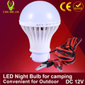 1pcs Led Energy Saving Lamp Led Bulb 3W 5W 7W  Camping 300mm 9W 15W DC 12V Led Lights For Outdoor Night Market Electric Wire