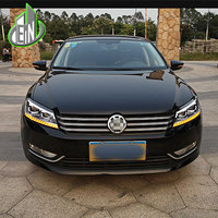 Car Styling For VW Passat B7 Headlights 2011 2012 2015 America Passat CC LED Headlight DRL Bi Xenon Lens High Low Beam