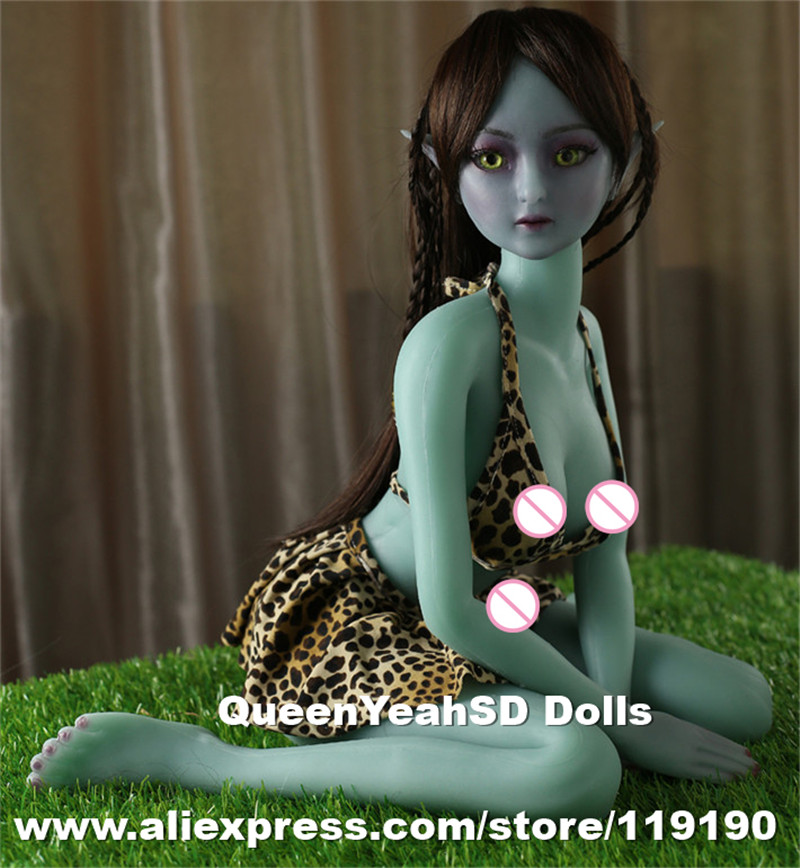 Top Quality Real Silicone Elf Sex Doll Lifelike Adult Love Dolls For Men Japanese Anime Sexy Roys With Realistic Pussy top quality oral sex doll head for japanese realistic dolls realdoll heads adult sex toys