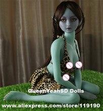 Muñeca del sexo del elfo del silicón Real de la calidad superior muñecas del amor del adulto realista para los hombres del Anime japonés Roys sexys con la vagina realista