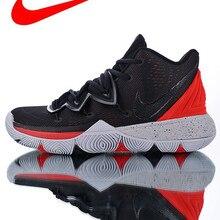 f395202785e4a Nouveauté chaussures de basketball pour hommes Nike Kyrie 5 génération,  blanches, respirantes, antidérapantes