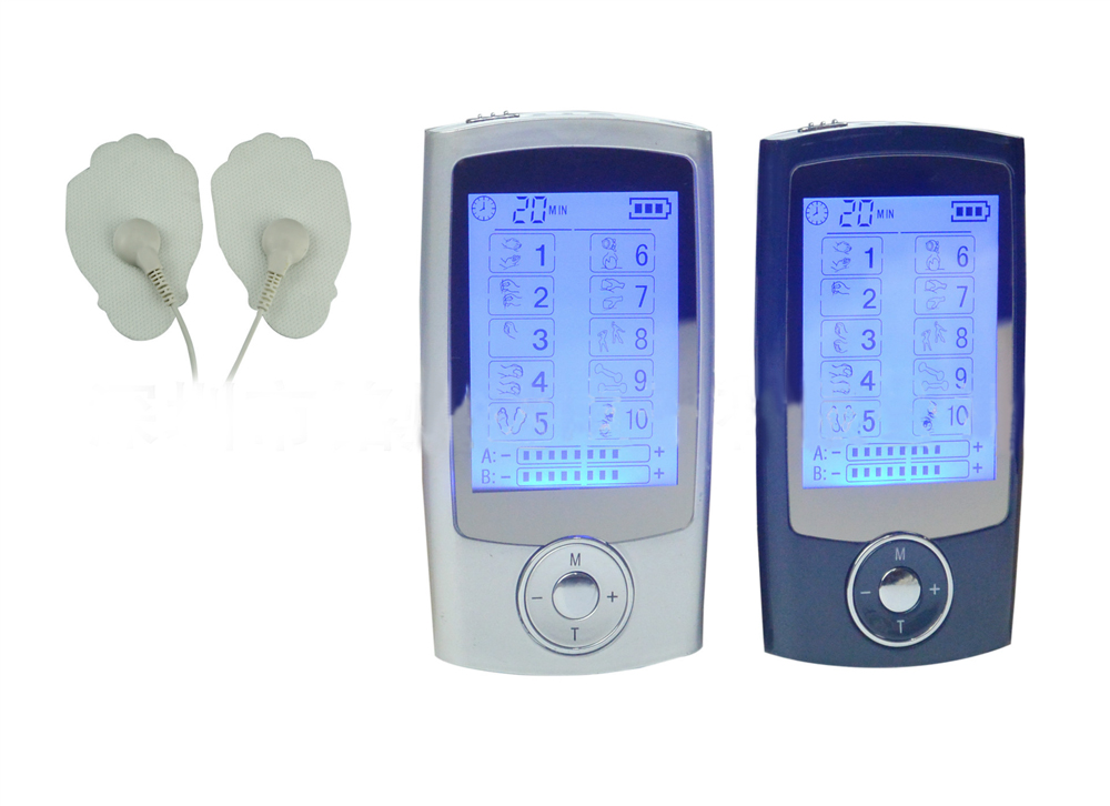 New 2 channel TENS Unit Electronic Pulse Massager 10 mode Smart Mini body massager for Physical Therapy Digital Therapy Machine home healthy coronary heart disease electronic pulse laser therapy massager
